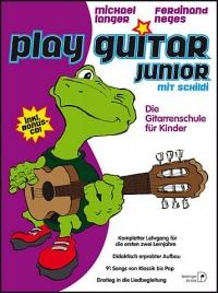 Play Guitar Junior mit Schildi