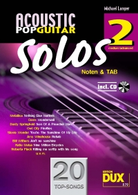 Acoustic Pop Guitar Solos 2