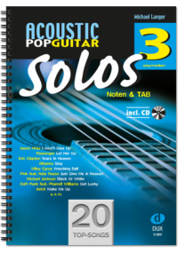Acoustic Pop Guitar Solos Band 3